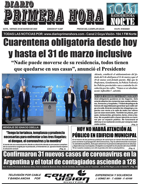 Tapa Diario